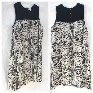 Joie Dresses - Joie Floreal Silk Animal Print Dress